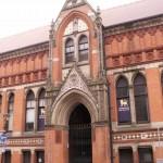 Birmingham School of Art entrance - Margaret Street