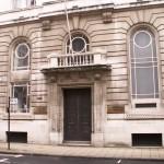 Doorway to the Birmingham Stock Exchange, Margaret Street