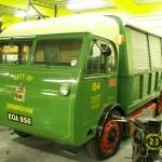 1938 Electric Birmingham 'Salvage Department' dustbin lorry in use unti 1972